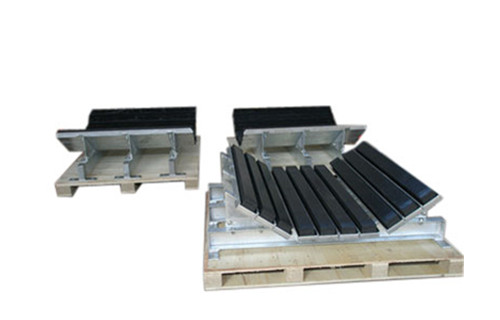 abrasive resistant and protective impact bed