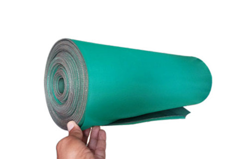 EP conveyor repair fabric sheet with bonding layer on both sides
