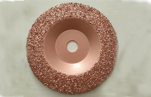 tungsten carbide buffing discs for conveyor belt repair tools