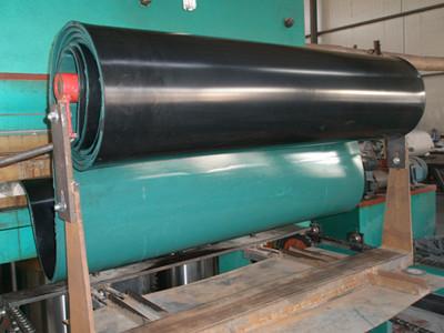 Conveyor Pulley Rubber Lagging