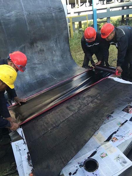 Hot splicing Repair Material